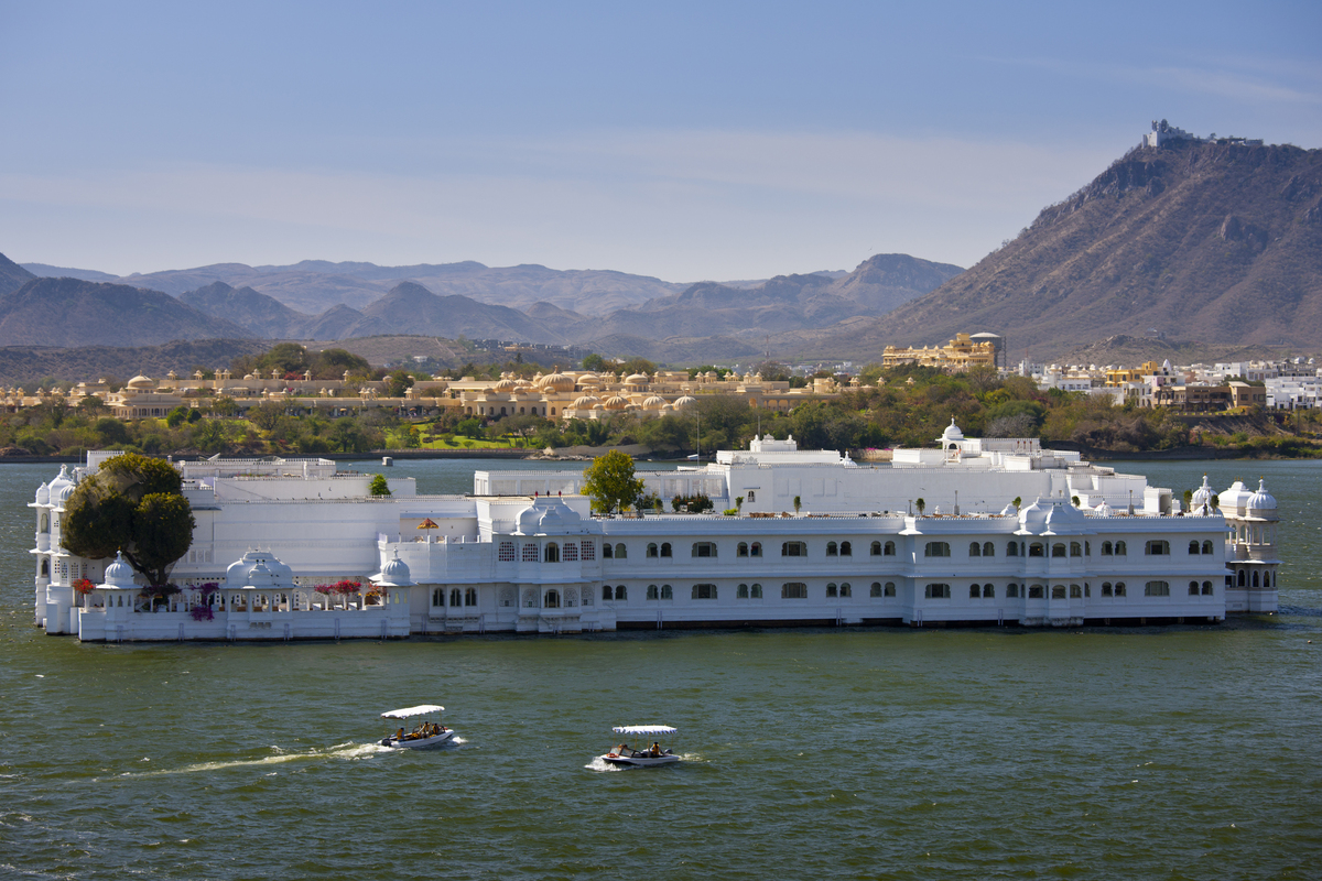 Lake Palace Hotel, Lake Pichola, Udaipur, India
