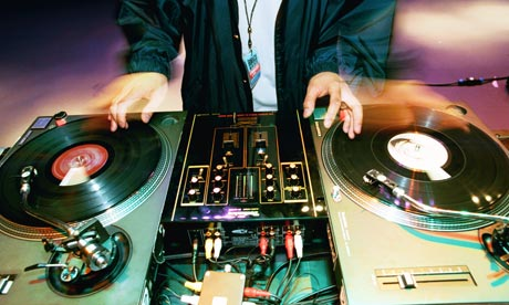 DJ and Turntables