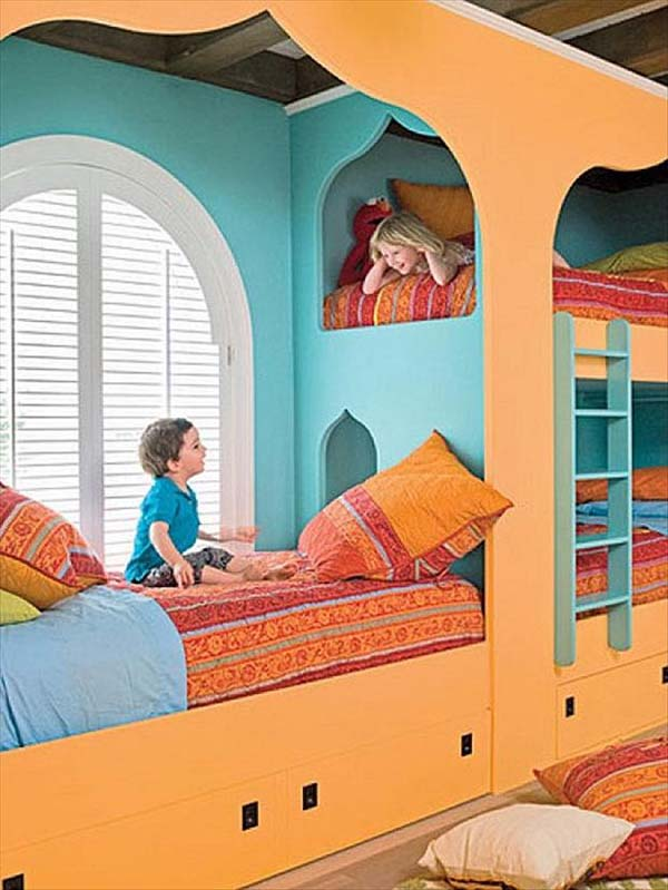 Bunk Beds Designs For Kids Rooms: 19 Totally Epic Kids Room Ideas. Even As An Adult, I Would