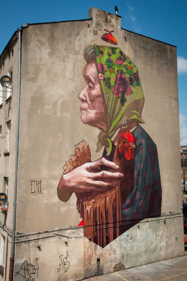 Etam-Cru-in-Lodz-Poland-2013-called-Madame-Chicken