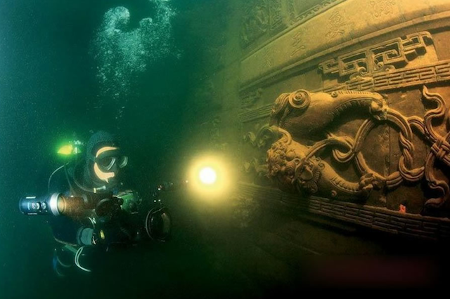 Shicheng - The lost underwater city in China 6