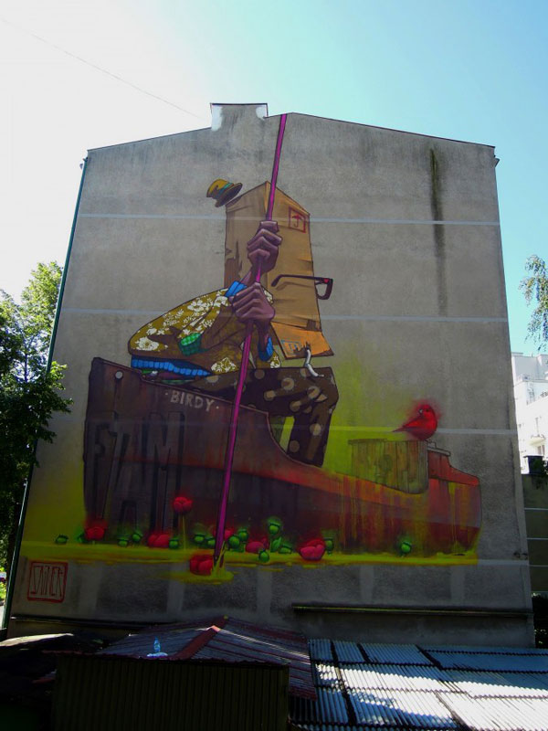 Street-art-by-Sainer-Birdyboat-in-Gdynia-Poland-Etam-Cru
