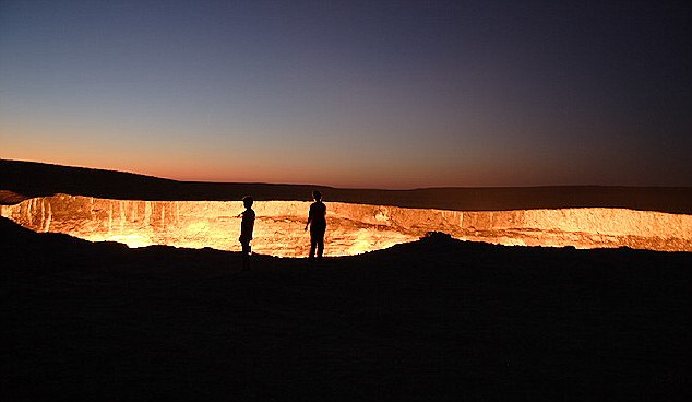 The Giant Burning Hole - Named, The Door To Hell By The Locals 3