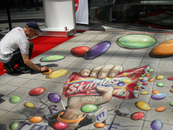 Julian Beever Art 4