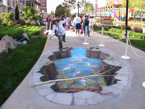 Julian Beever Art 6