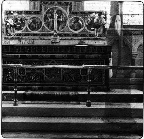 the ghost of newby church