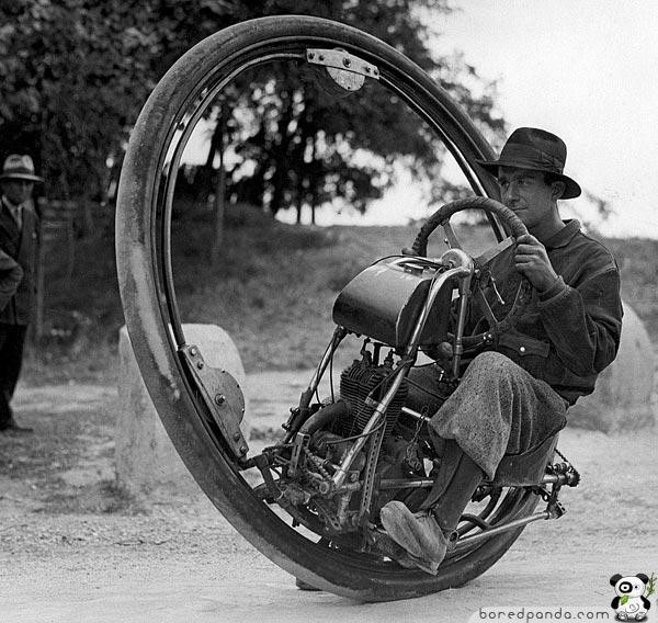 one wheeled motorcycle