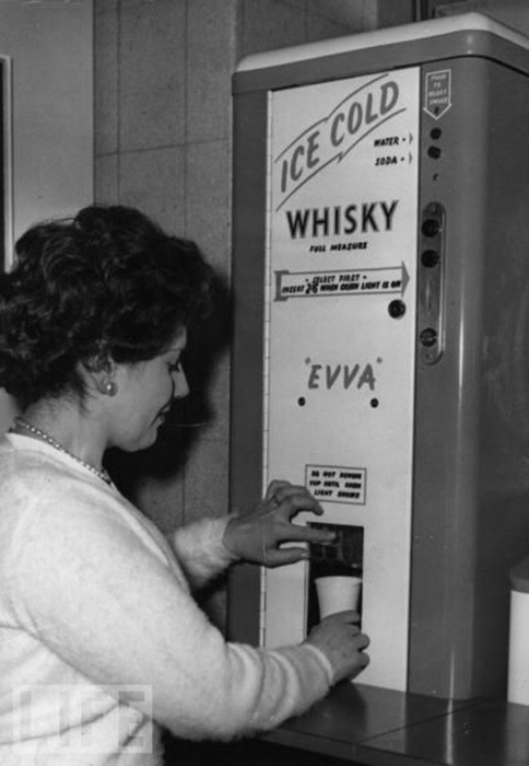 whisky vending machine