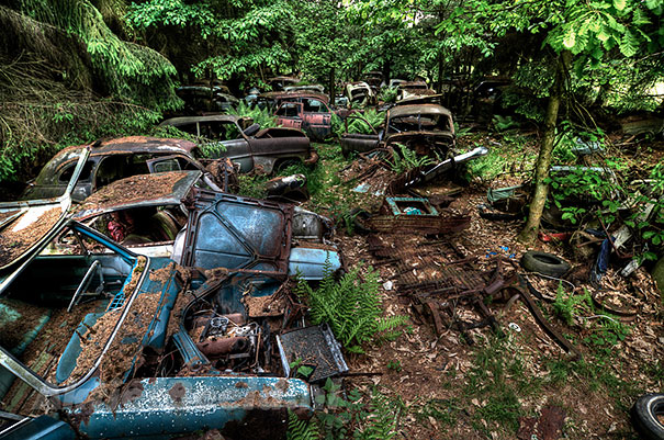 Chatillion Car Graveyard 10
