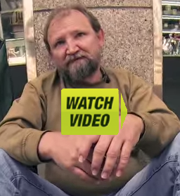 Homeless German watch video