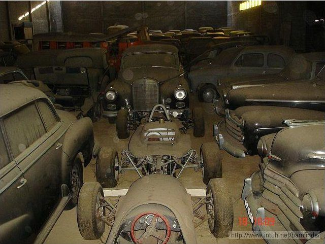 Unbelievable A Barn Crammed With Classic Cars Worth Millions Of