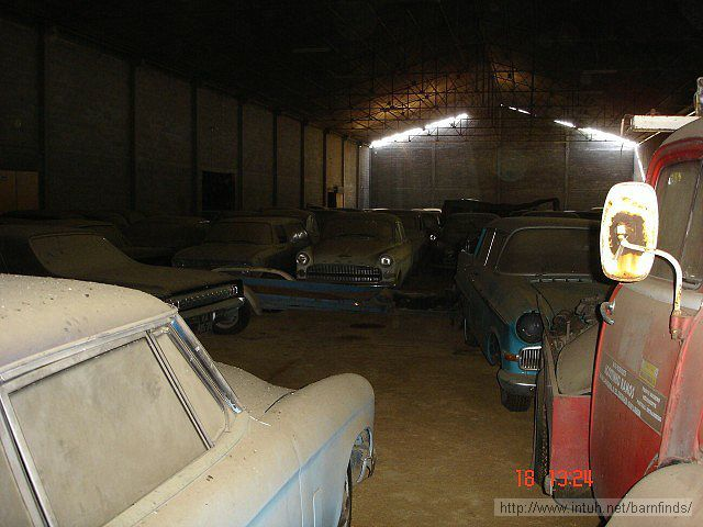 barn of cars 19