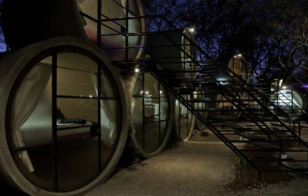 concrete pipe hotel 6