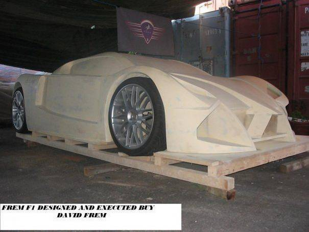 home made foam supercar 3