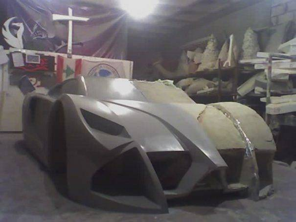 home made foam supercar 4