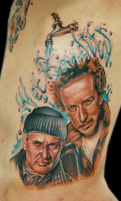 movie inspired tattoo home alone