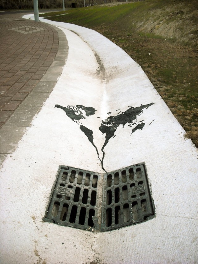street art using surroundings 4