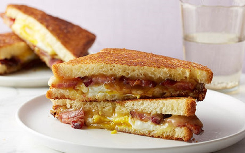 Food Network's Maple Bacon Grilled Cheese