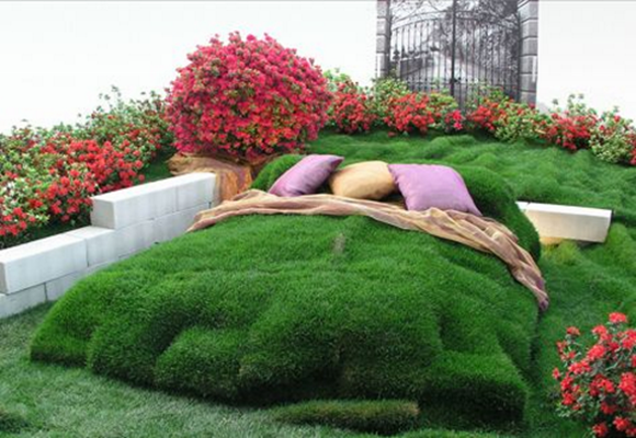 Cool topiary creations 1 for Garden bed ideas pinterest