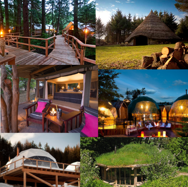 11 best  glamping sites