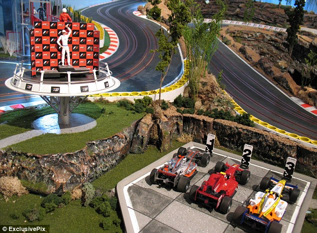 best home slot car track