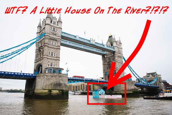 house on the river thames