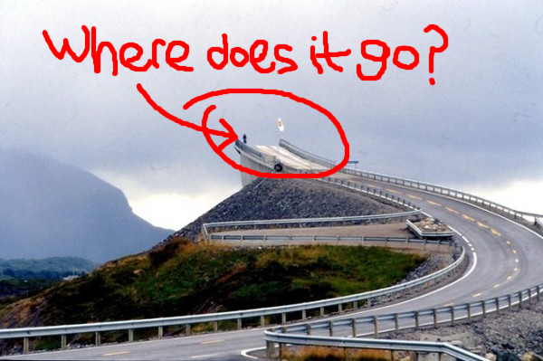 Norway's scariest bridge