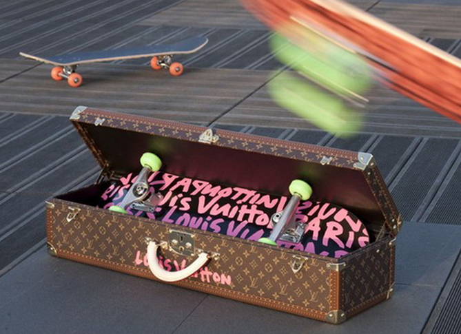 A $8,250 Louis Vuitton Skateboard