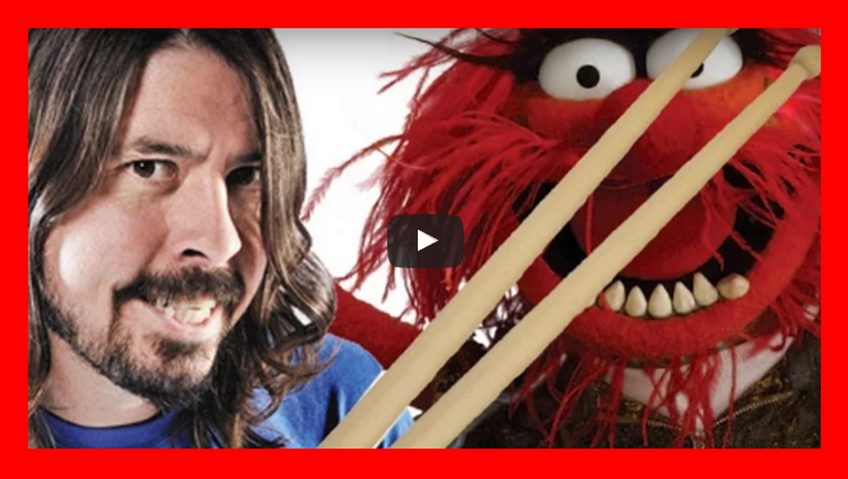 dave grohl animal drum off