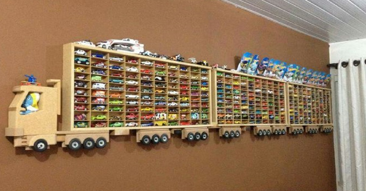 hot wheels displays