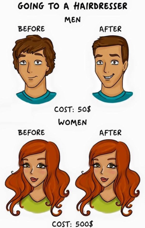 12 Wonderfully Funny Cartoons Showing The Differences