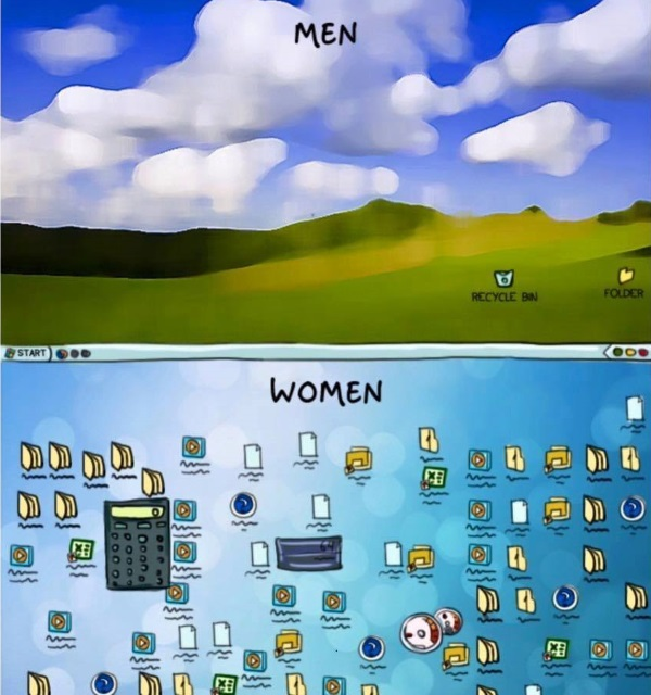 men vs women 8