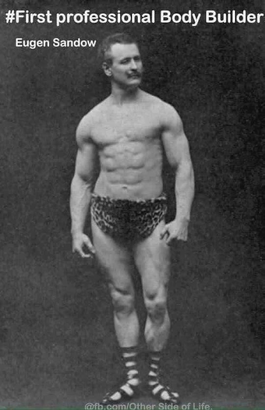first bodybuilder