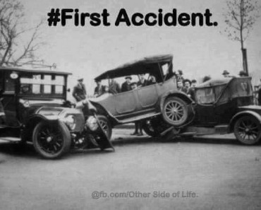first car crash