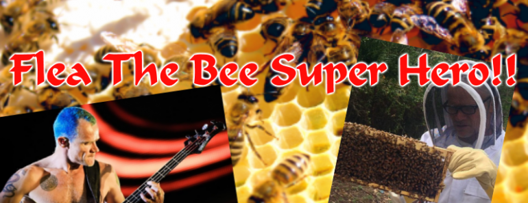 flea bee super hero