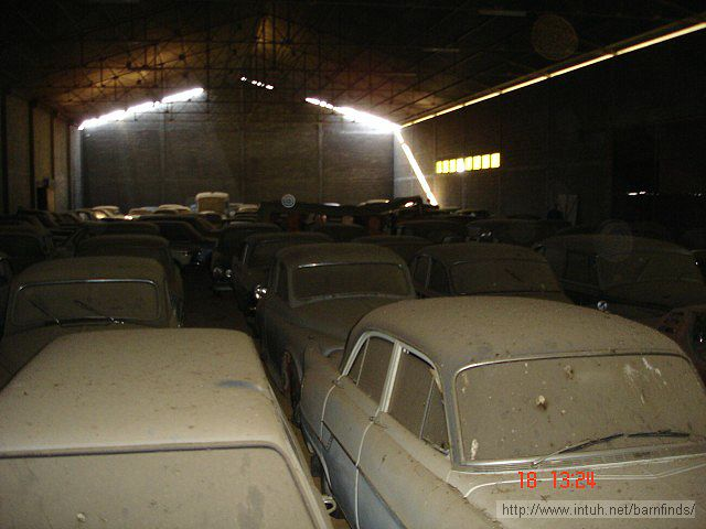 Unbelievable! A Barn Crammed With Classic Cars Worth